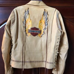 Harley-Davidson Leather Jacket. Size Small.